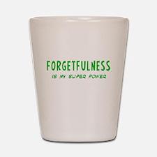 Super Power: Forgetfulness Shot Glass