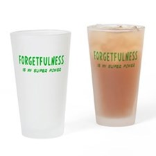 Super Power: Forgetfulness Drinking Glass
