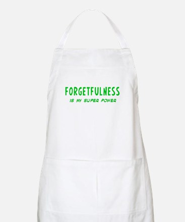Super Power: Forgetfulness Apron