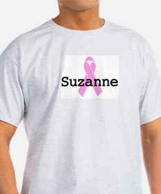 BC Awareness: Suzanne Ash Grey T-Shirt