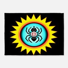 SOUTHEAST INDIAN WATER SPIDER 5'x7'Area Rug