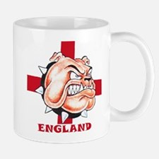 English Bulldog With St Georges Cross Mug