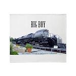 Big Boy Steam Engine Throw Blanket