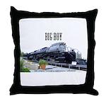 Big Boy Steam Engine Throw Pillow