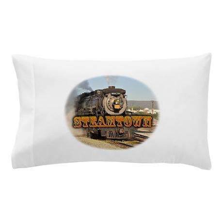 Vertbig steam.jpg Pillow Case