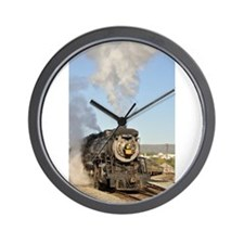 Vertbig steam.jpg Wall Clock