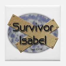 Survivor Isabel Tile Coaster