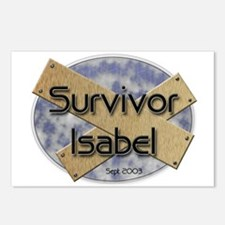 Survivor Isabel Postcards (Pkg of 8)