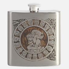 mayan circle Flask