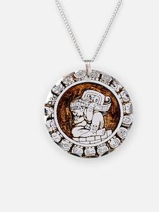 mayan circle Necklace