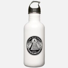 LOGIC IS AN ENEMY / TRUTH IS A MENACE Water Bottle