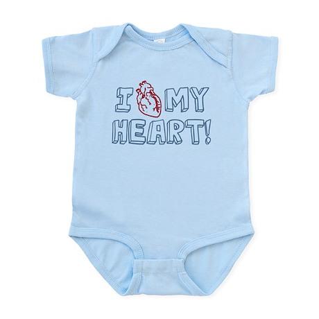 I Love My Heart Infant Bodysuit