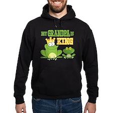 Frog King Grandpa Hoodie