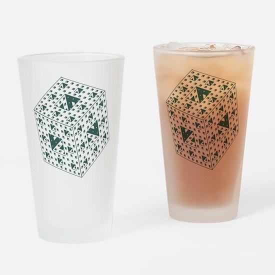 Menger Sponge Drinking Glass