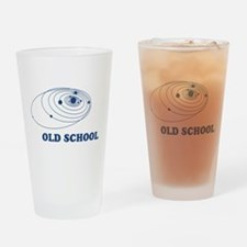 Old School Solar System Drinking Glass