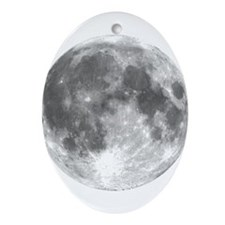 The Moon Ornament (Oval)