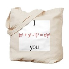 Math Love Formula Tote Bag