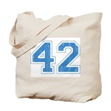 Retro Number 42 Tote Bag