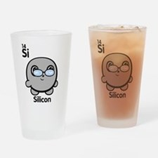 Cute Element Silicon Drinking Glass