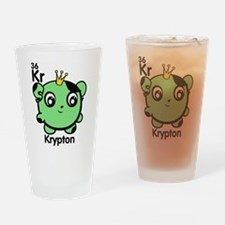 Cute Element Krypton Drinking Glass