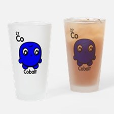 Cute Element Cobalt Drinking Glass