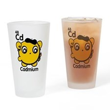Cute Element Cadmium Drinking Glass