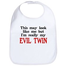 I'm My Evil Twin Bib