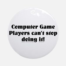 Game Players... Ornament (Round)