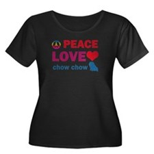 Peace Love Chow Chow T