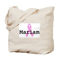 BC Awareness: Mariam Tote Bag