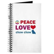 Peace Love Chow Chow Journal