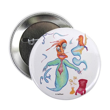"Ghost 2.25"" Button (10 pack)"