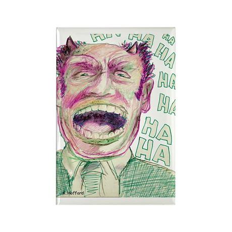 Ha Ha Ha Rectangle Magnet (100 pack)