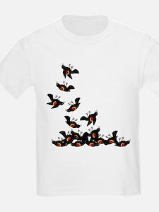 Falling Blackbirds T-Shirt