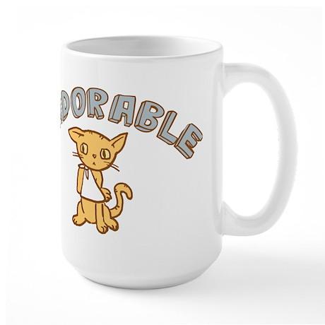 Sadorable Kitten Large Mug
