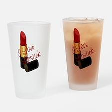 I Love Lipstick Drinking Glass