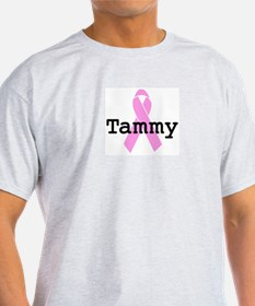BC Awareness: Tammy Ash Grey T-Shirt