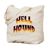 Hell hound Canvas Bags