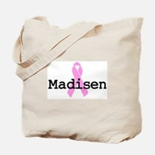 BC Awareness: Madisen Tote Bag