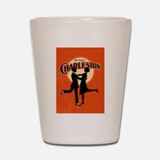 Vintage Charleston Music Art Shot Glass