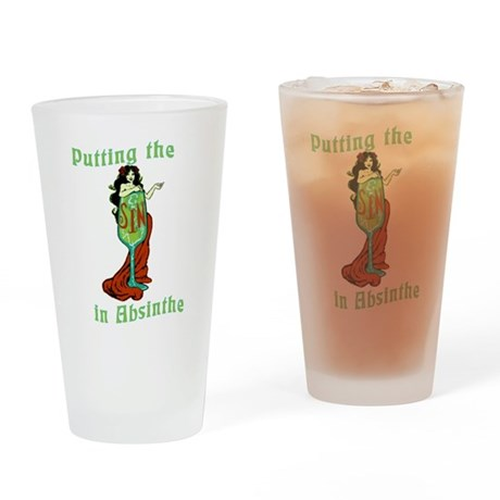 Putting The Sin In Absinthe Drinking Glass