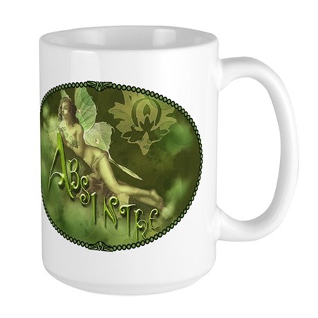 Absinthe Fairy Collage Large Mug