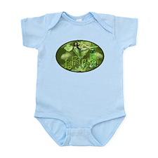 La Fee Verte In Glass Collage Infant Bodysuit