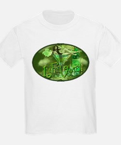La Fee Verte In Glass Collage T-Shirt