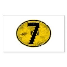 Lucky 7 Decal
