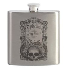 Ophelia's Very Bitter Absinthe Flask