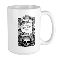 Ophelia's Very Bitter Absinthe Mug