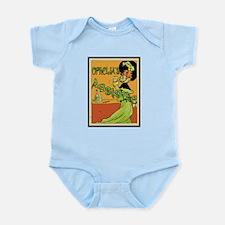 1890s Style Ophelia's Absinthe Infant Bodysuit