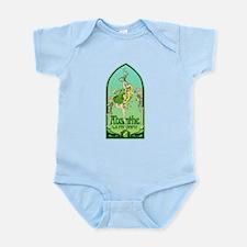 Art Nouveau Absinthe La Fee Verte Infant Bodysuit