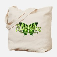 Absinthe The Green Fairy Wings Tote Bag